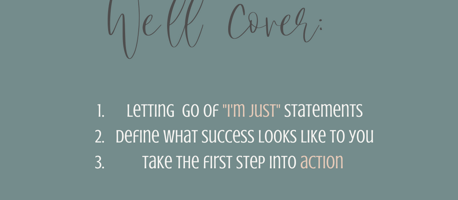 Starting is messy, don't pump the brakes