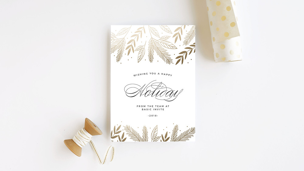 Basic Invite, Holiday Cards, Photography, Family, Holidays, Christmas, New Years