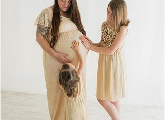Crystal Pregnancy | Cedar City, Utah | Natural Light Studio