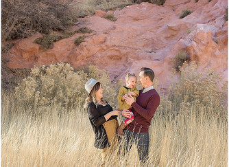 Christ Family Cedar City, Utah | Family Photographer