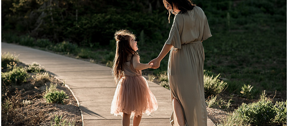 Emilie + Addie | Southern Utah Motherhood Photographer