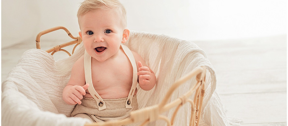 Tadd 6 Month Session   Southern Utah Studio Photographer