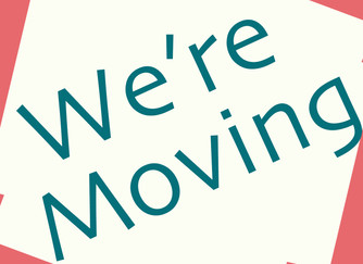 We're Moving!!!