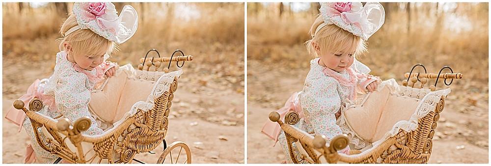 Utah Natural light photographer, Cedar City, UT, Pioneer Dress, Pram, Seamstress