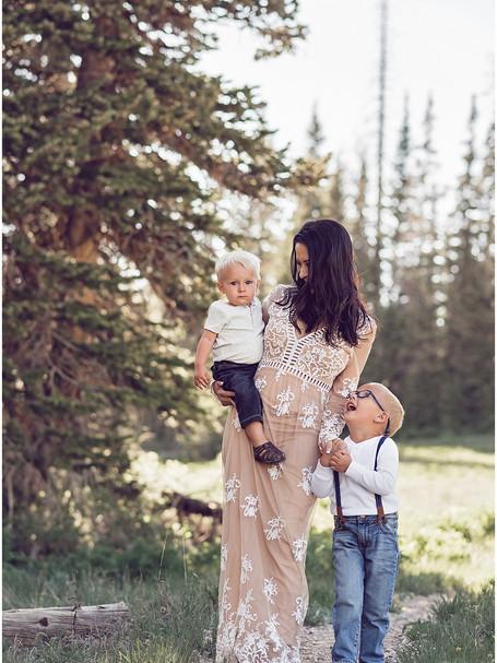 Merichia Motherhood | Cedar Breaks Utah Photography