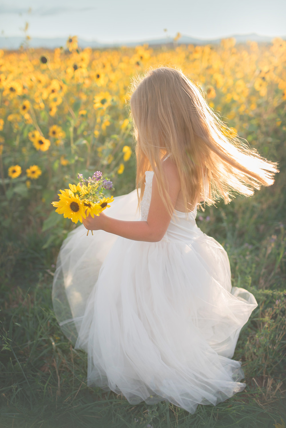Children, Southern Utah, Sunflower Field, www.dollcake.au, Cedar City, Utah, Family Photographer