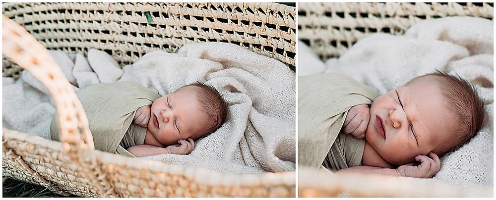 Newborn, Moses basket, baby boy, best newborn photographer, Cedar City, Utah, Family, Kids,
