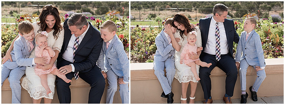 Family Session at the Cedar City, Utah Temple