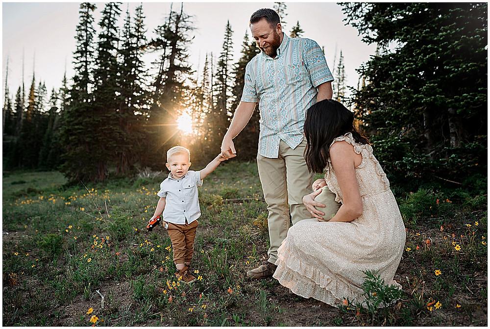 Cedar Breaks, Wildflower Festival, Family photography, Iron County, Southern Utah, Kids, Babies