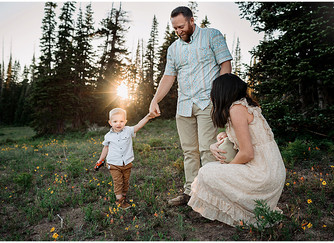 Burgess Newborn Session | Southern Utah Photographer