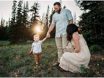 Burgess Newborn Session | Southern Utah Photographer