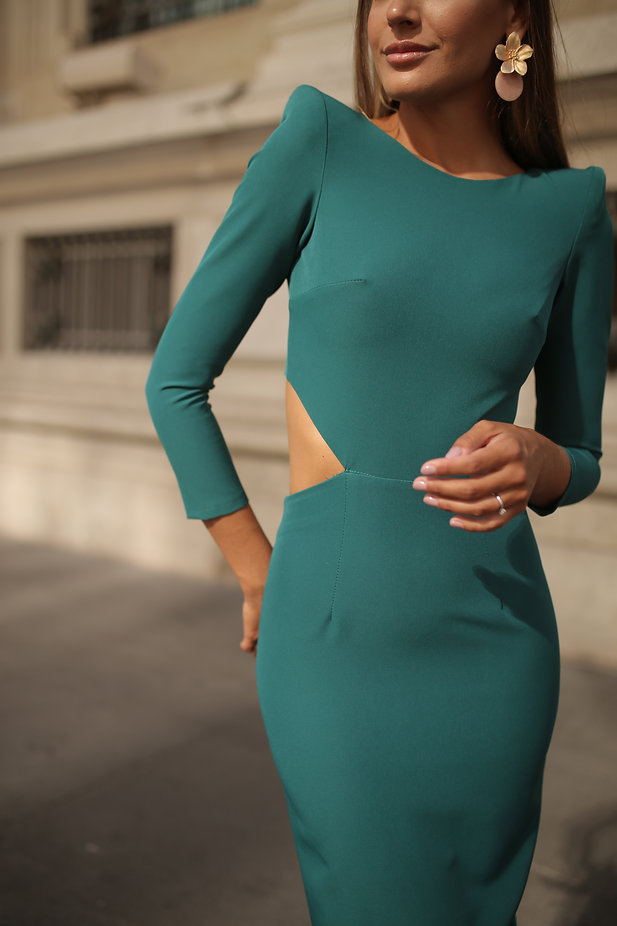 Vestido Fabiola Petroleo3.JPG