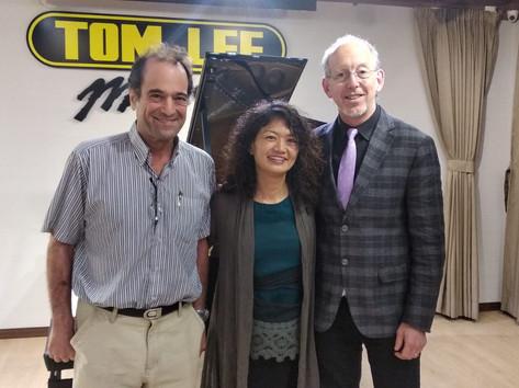 Professor Richard Cionco and Dr. Natsuki Fukasawa
