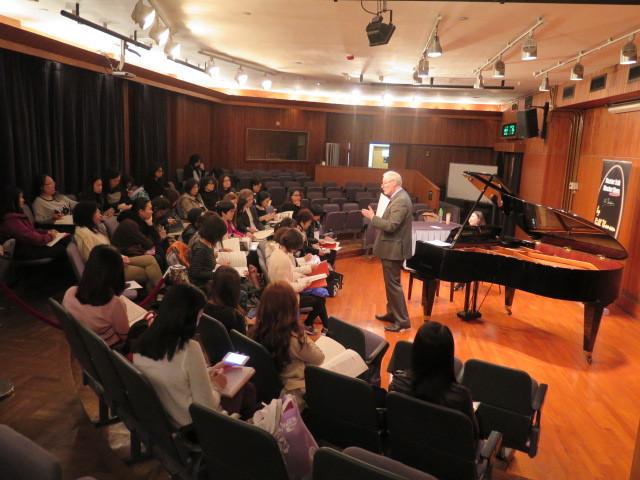 音樂講座及大師班  Music Lecture, MasterTalk by Mr Bill Thomson
