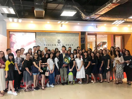 Teacher seminar in Steinway Hall, Foshan