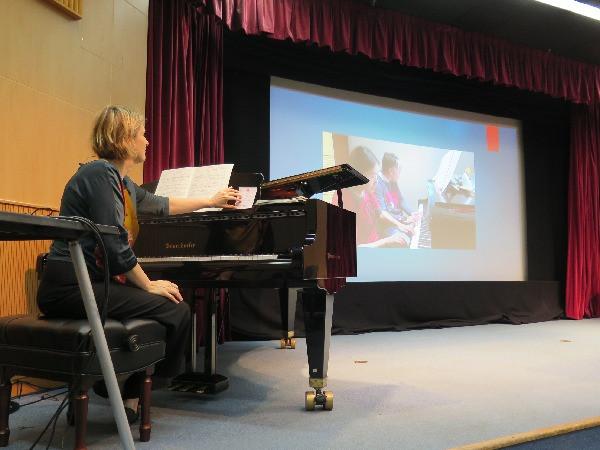 音樂講座及大師班 Music Teacher Seminar by Ms Ann Martin-Davis