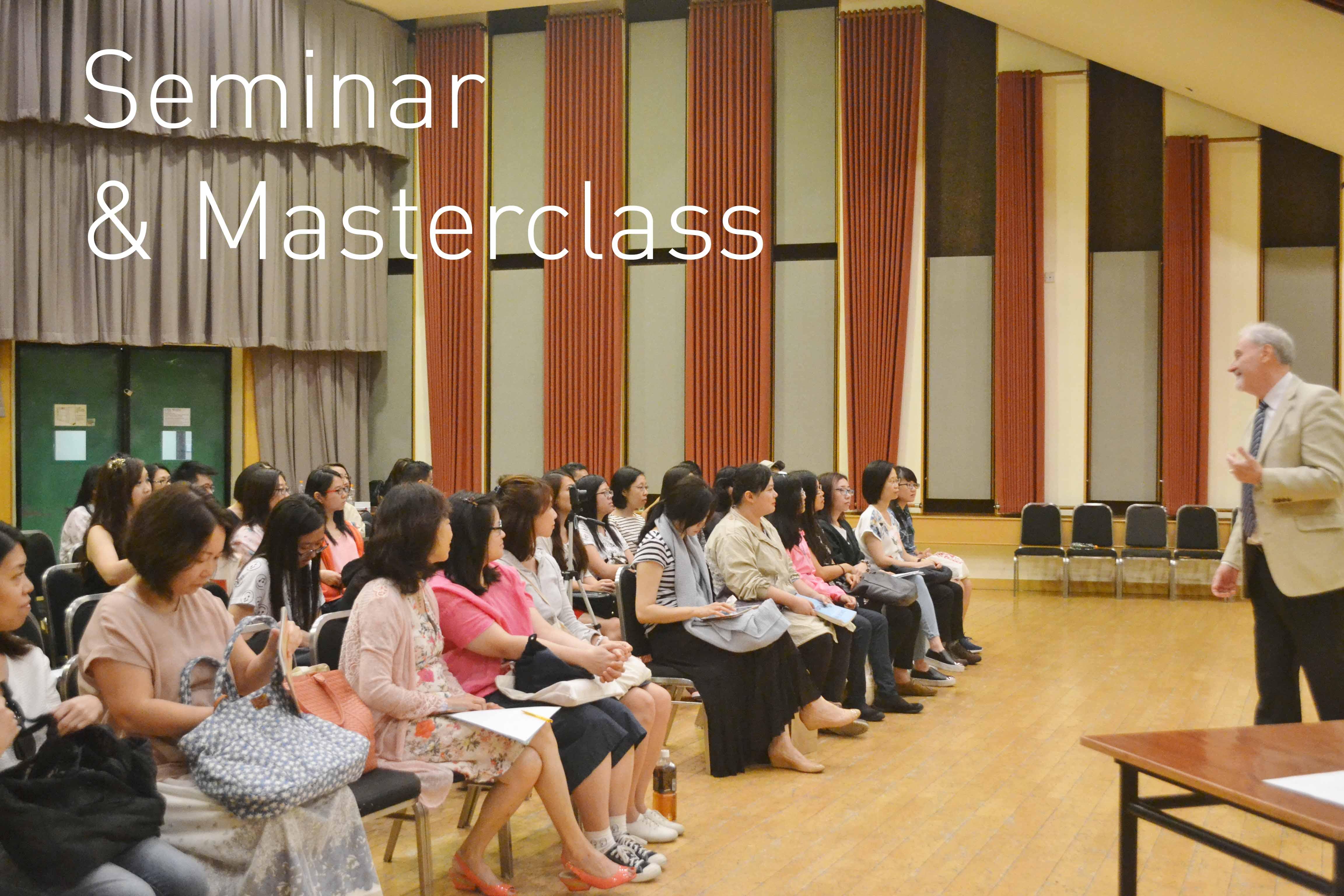 Seminar & Masterclass