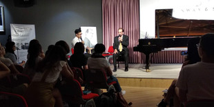 Lecture recital in Steinway Hall