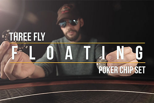 Ante Gravity - Floating 3 Fly Chip Routine (Gimmicks and Online Instructions) by