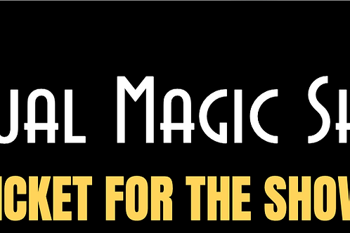 TICKET FOR LIVE VIRTUAL MAGIC SHOW