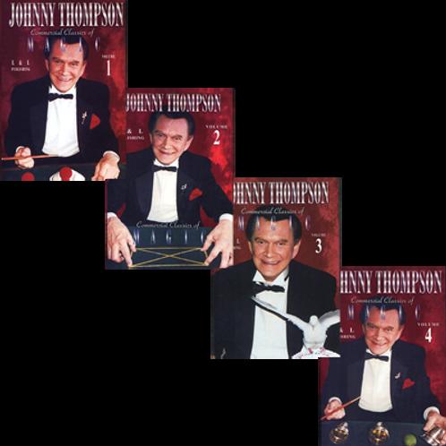 Johnny Thompson Commercial Set (Vol 1 thru 4)
