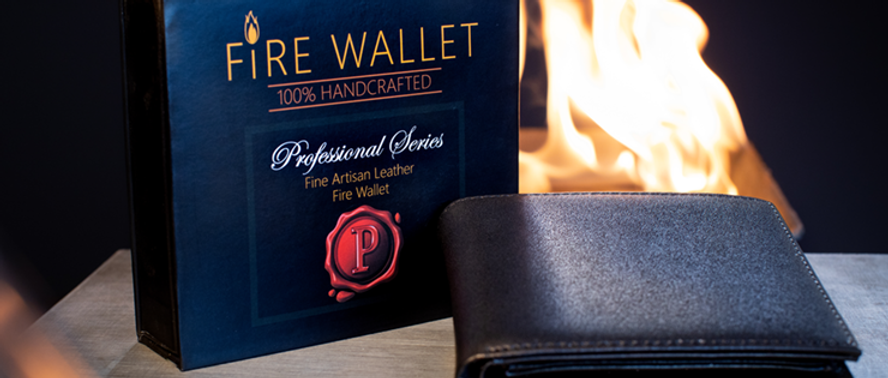 The Professional's Fire Wallet (Gimmick and Online Instructions)