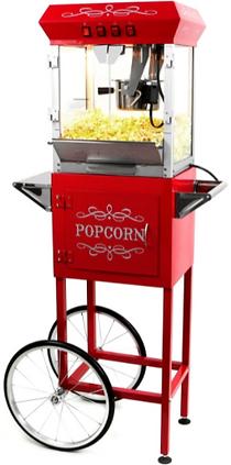 Paramount 6oz Popcorn Machine with Cart.