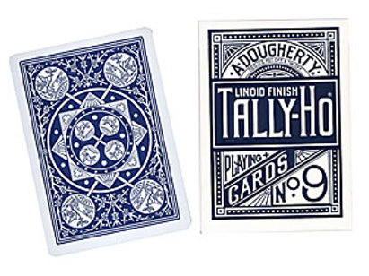 Cards Tally Ho Fan Back (Poker Size)