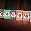 Thumbnail: Bicycle Orange Playing Cards by US Playing Card Co
