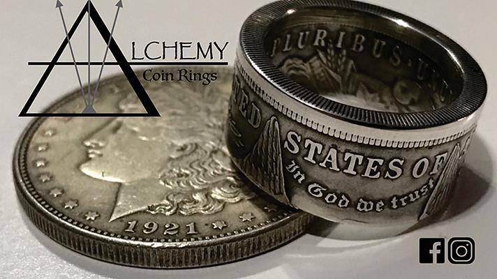 Kennedy Half Dollar Ring