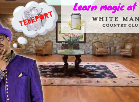 Episode 8 - Teleporting Ball Trick - White Manor Country Club (Magic Trick Revealed)