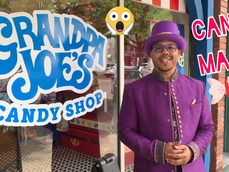 Episode 4 - Easy Beginner Candy Magic with Lifesavers at Grandpa Joe's Candy Shop