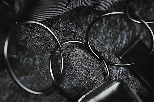 "4"" Linking Rings (Black)"