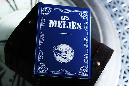 Les Melies Conquest Blue Playing Cards