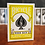 Thumbnail: Bicycle Yellow Playing Cards by US Playing Cards