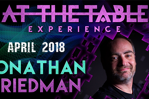Jonathan Friedman At The Table Live