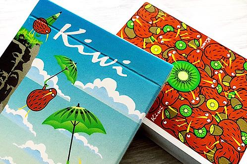 Kiwi Playing Cards by Mattia Santangelo