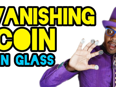 Episode 14 - #WonderWednesday Vanishing A Coin Under A Cup + bonus move