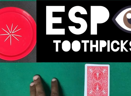 Episode 10 - ESP Mind Reading Toothpicks - Make Everyone Think You're A Wizard