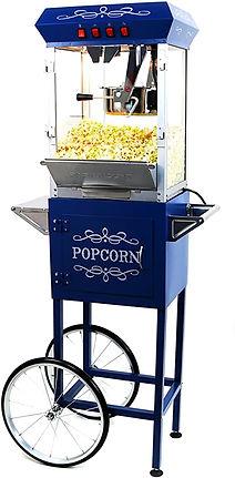 Paramount 8oz Popcorn Machine with Cart.