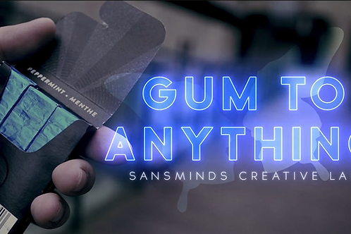 Gum to Anything (Gimmicks and Online Instructions)