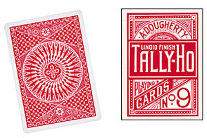 Cards Tally Ho Circle Back (Poker Size)