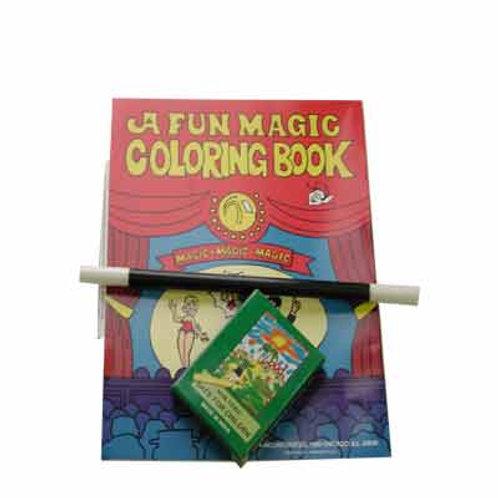 Magic Coloring Book Kit