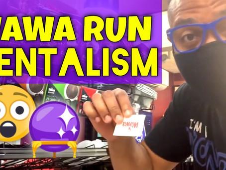 Episode 11 - Wawa Run! - Sugar Packet Mentalism - Predict the Outcome!