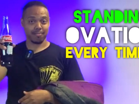 Episode 9 - How to Get a Standing Ovation with Magic! - Make a Coke Bottle Appear