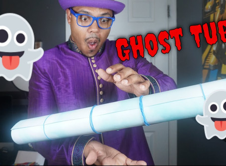 Episode 18 - How to make a Ghost Tube - (Make Silks Appear!) - Halloween Magic