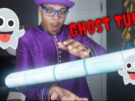 Episode 18 - How to make a Ghost Tube - (Make Silks Appear!) - Halloween Magic