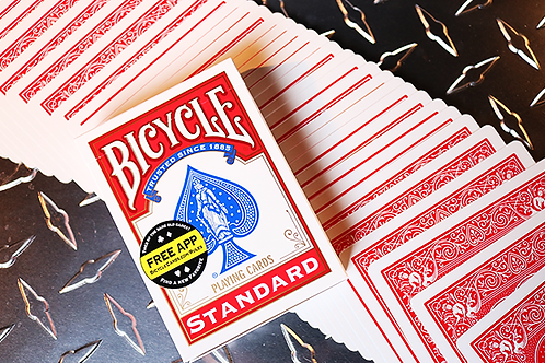 Bicycle Standard Poker Cards (Red or Blue)