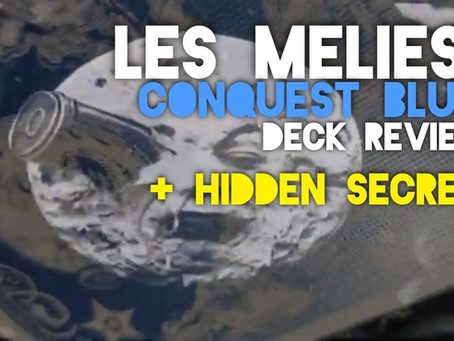George Méliès a Trip to the Moon - Les Melies Conquest Blue (Deck Review)