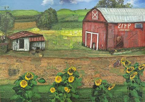 """""""The Farm"""" - Print"""